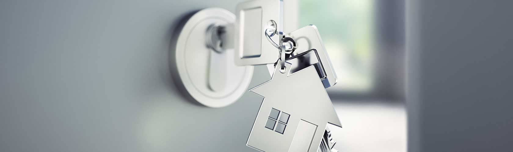 Büro Sicherheitsschlüssel System eingebaut in Geschäftseingang