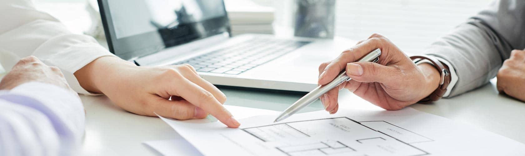 Analyse und Beratungsgespräch Gebäudesicherheit, Alarmanlage, Sicherheitskonzept