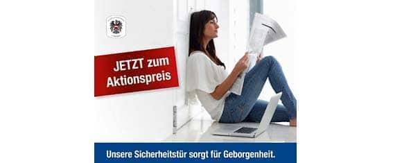 Sicherheitstüren Linz - Jetzt zum Aktionspreis