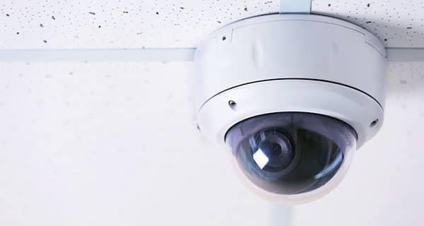 360 Grad Videokamera in der Decke für Videoüberwachung